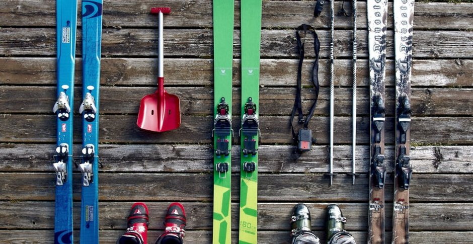 Ski and bike rental / shop